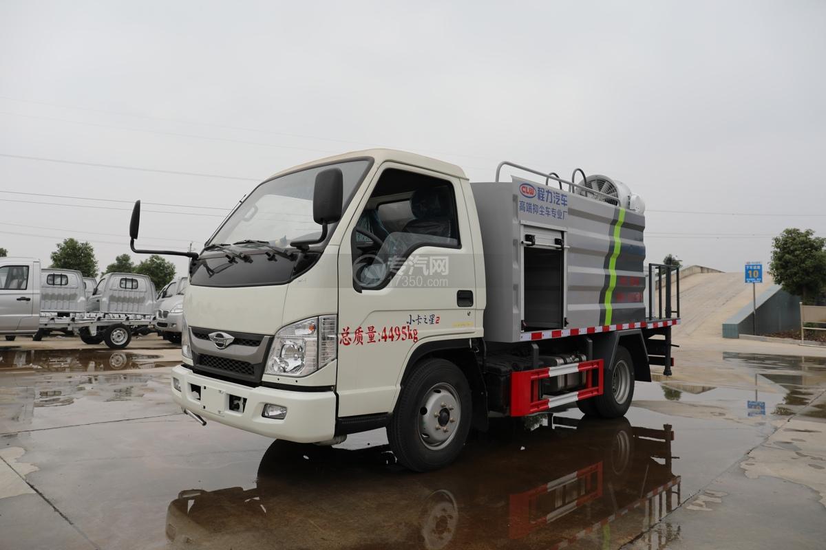 福田时代小卡之星2国六30米多功能抑尘车左前图