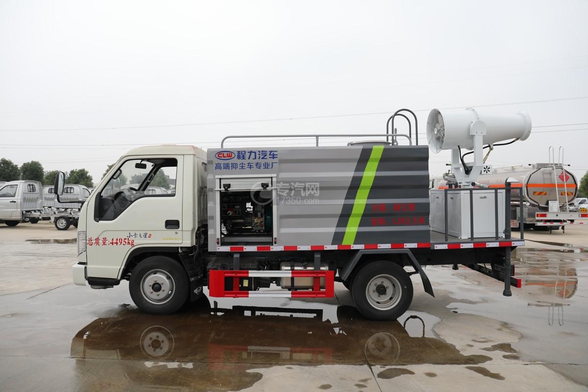 福田时代小卡之星2国六30米多功能抑尘车左侧图