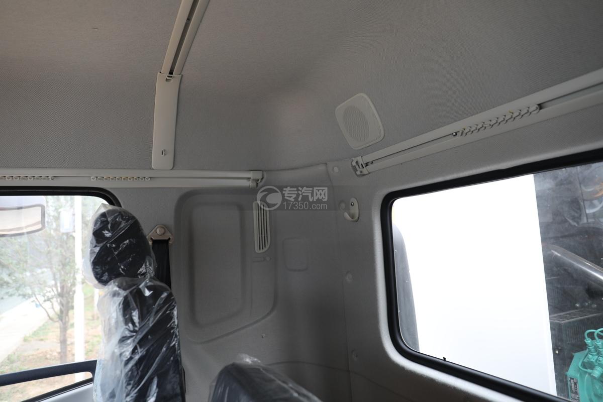 东风天锦VR国六80米多功能抑尘车带滚雪刷窗帘