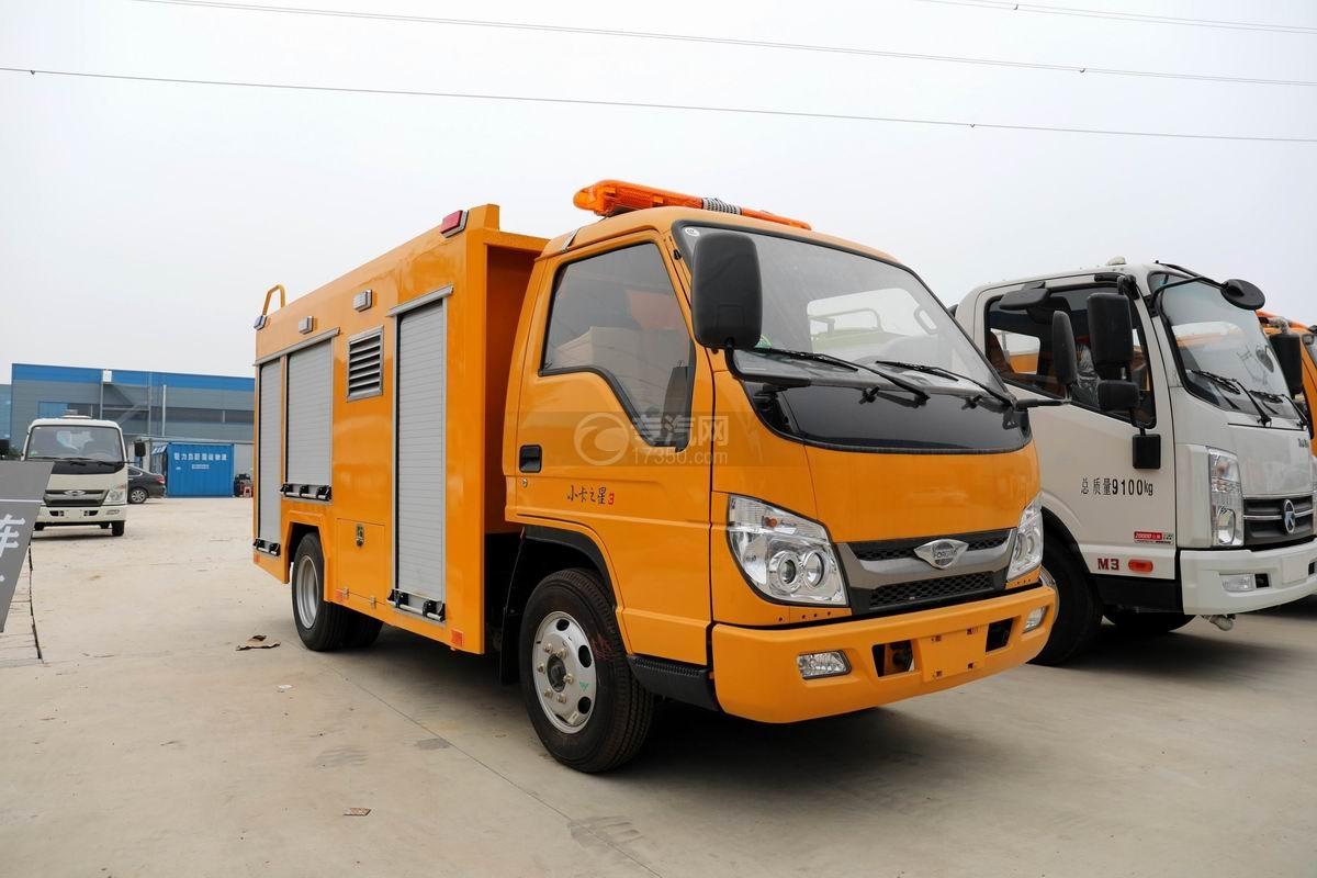 福田時代小卡之星3國六救險車