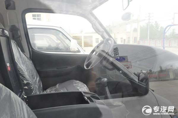 金杯新海狮x30L国六面包冷藏车驾驶室