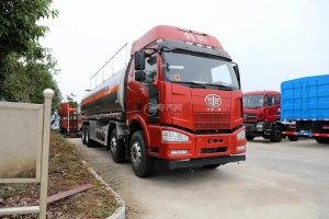 解放J6M前四后八国五31.5方运油车(红色)图片