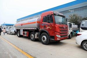 解放新悍V2.0小三轴国五18.3方加油车图片