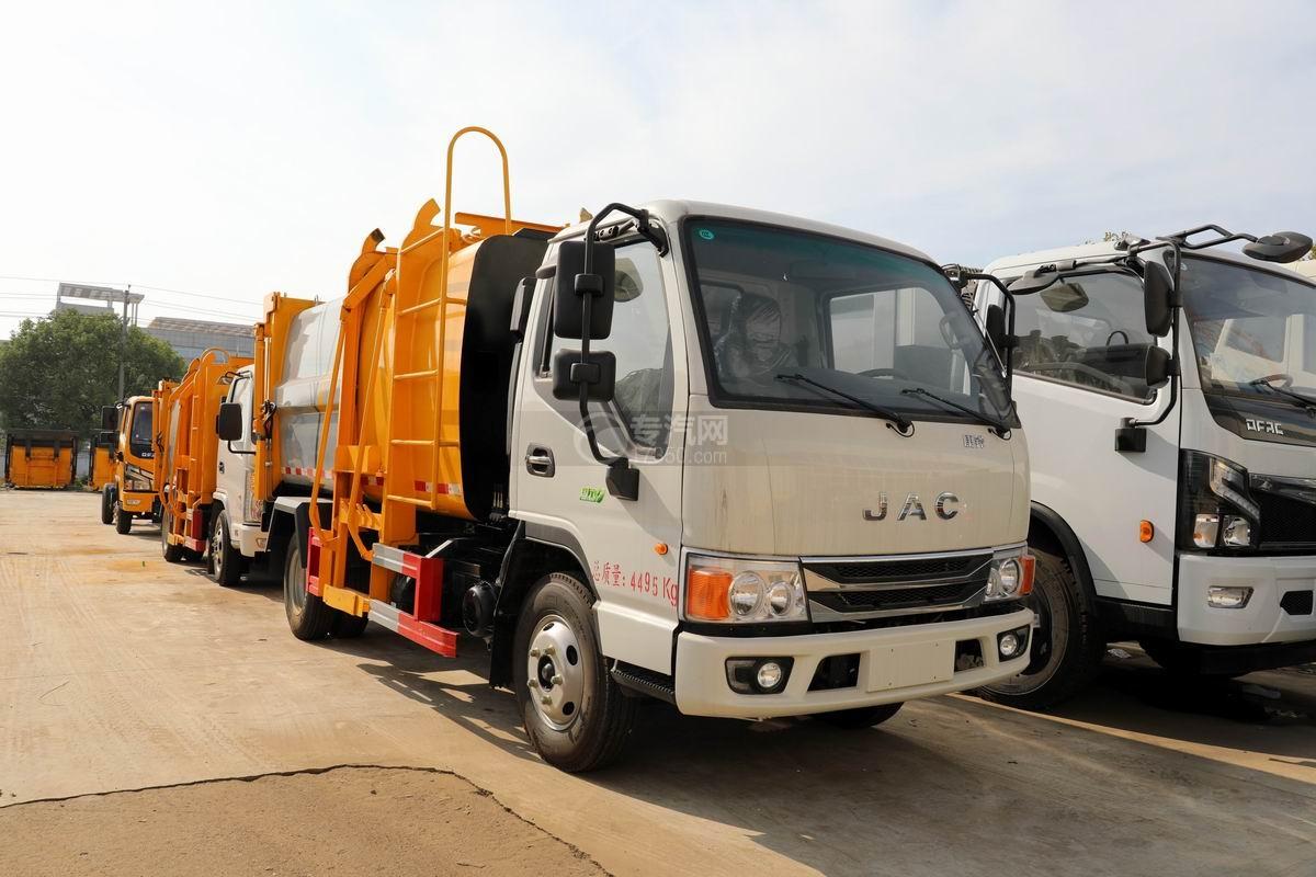 江淮康铃国六自装卸式垃圾车图片