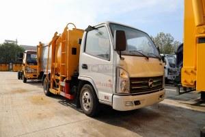 凯马K6自装卸式垃圾车图片