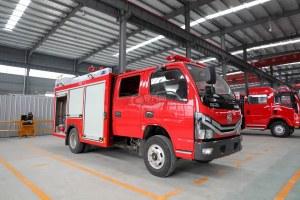 東風多利卡D6雙排2噸泡沫消防車圖片