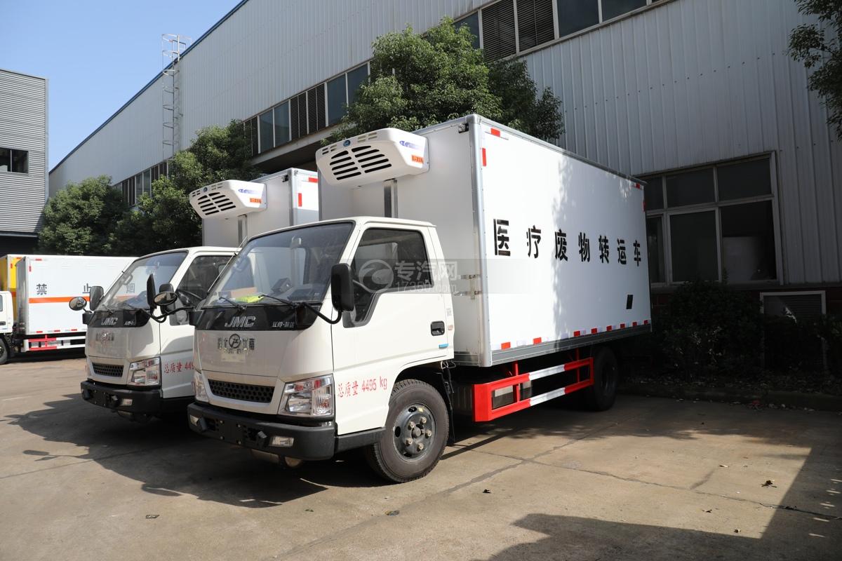 江铃顺达国五4.05米医疗废物运输车