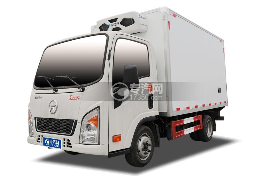 大運新奧普力小卡國六3.56米冷藏車