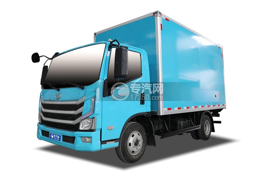 跃进快运H500国六4.09米冷藏车