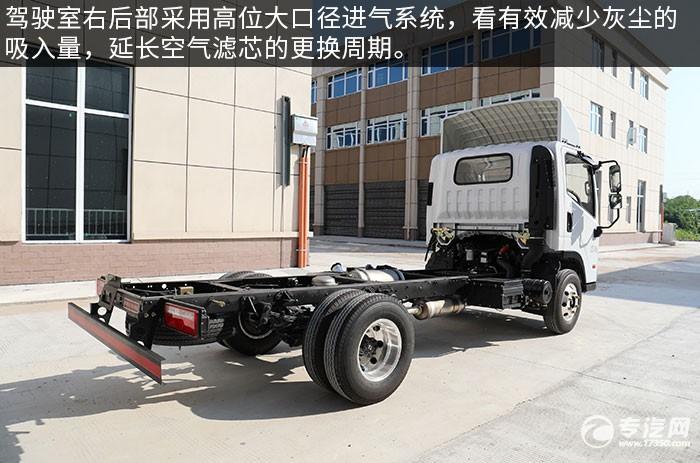 四川现代泓图清障车底盘评测发动机进气系统