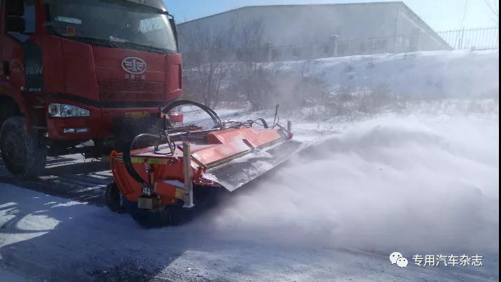 独家| 什么?除雪专用车竟然有四种除雪方式
