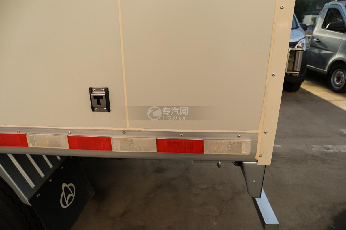 河北长安神骐T20国六2.93米冷藏车反光贴