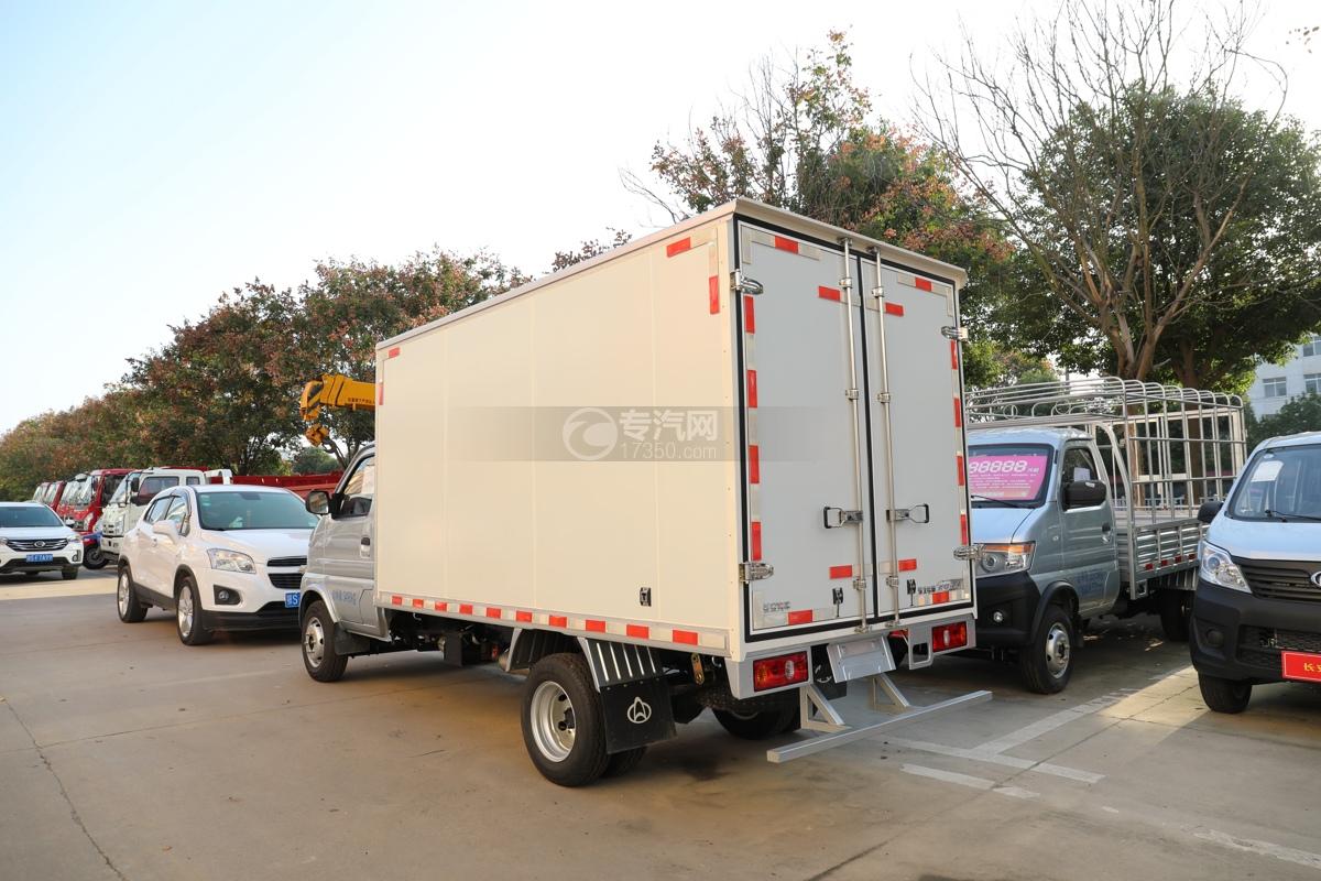 河北长安神骐T20国六2.93米冷藏车左后图
