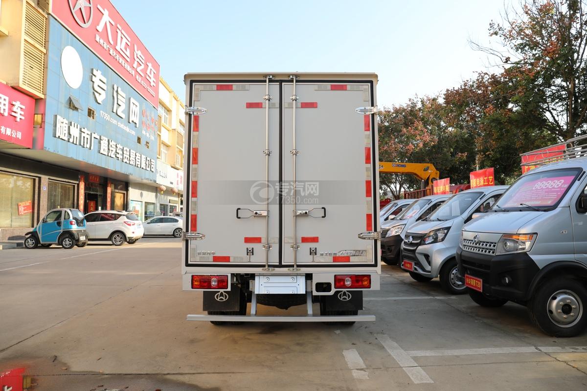 河北长安神骐T20国六2.93米冷藏车车尾图
