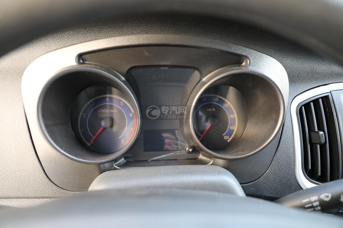 河北长安神骐T20国六2.93米冷藏车仪表盘