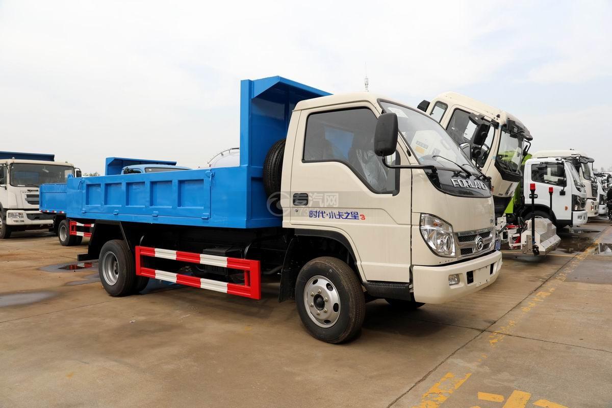 福田时代小卡之星3国六自卸式垃圾车图片
