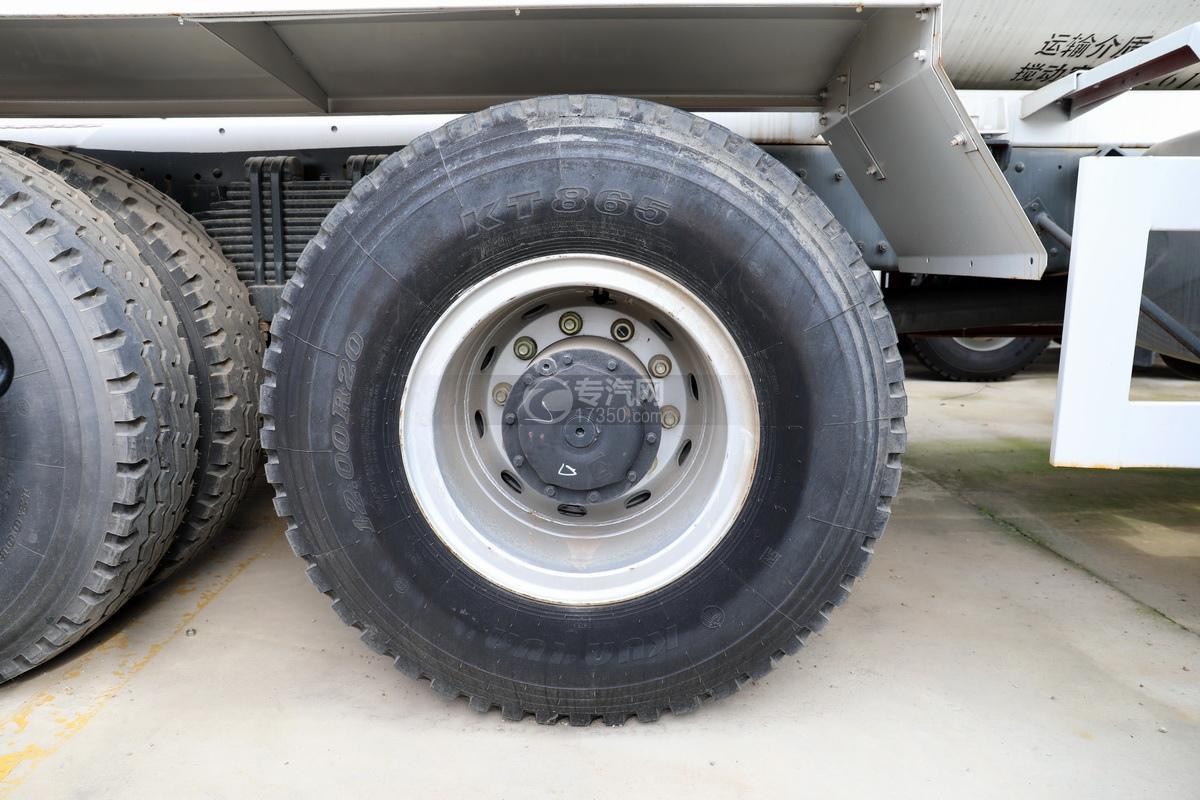 徐工祺龙后双桥国五4.61方搅拌车轮胎