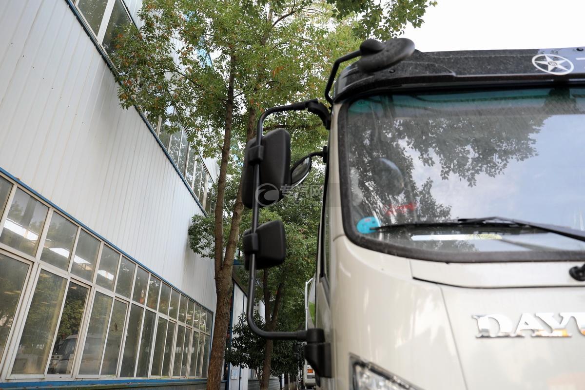 大運運途單橋國六3.57方攪拌車后視鏡