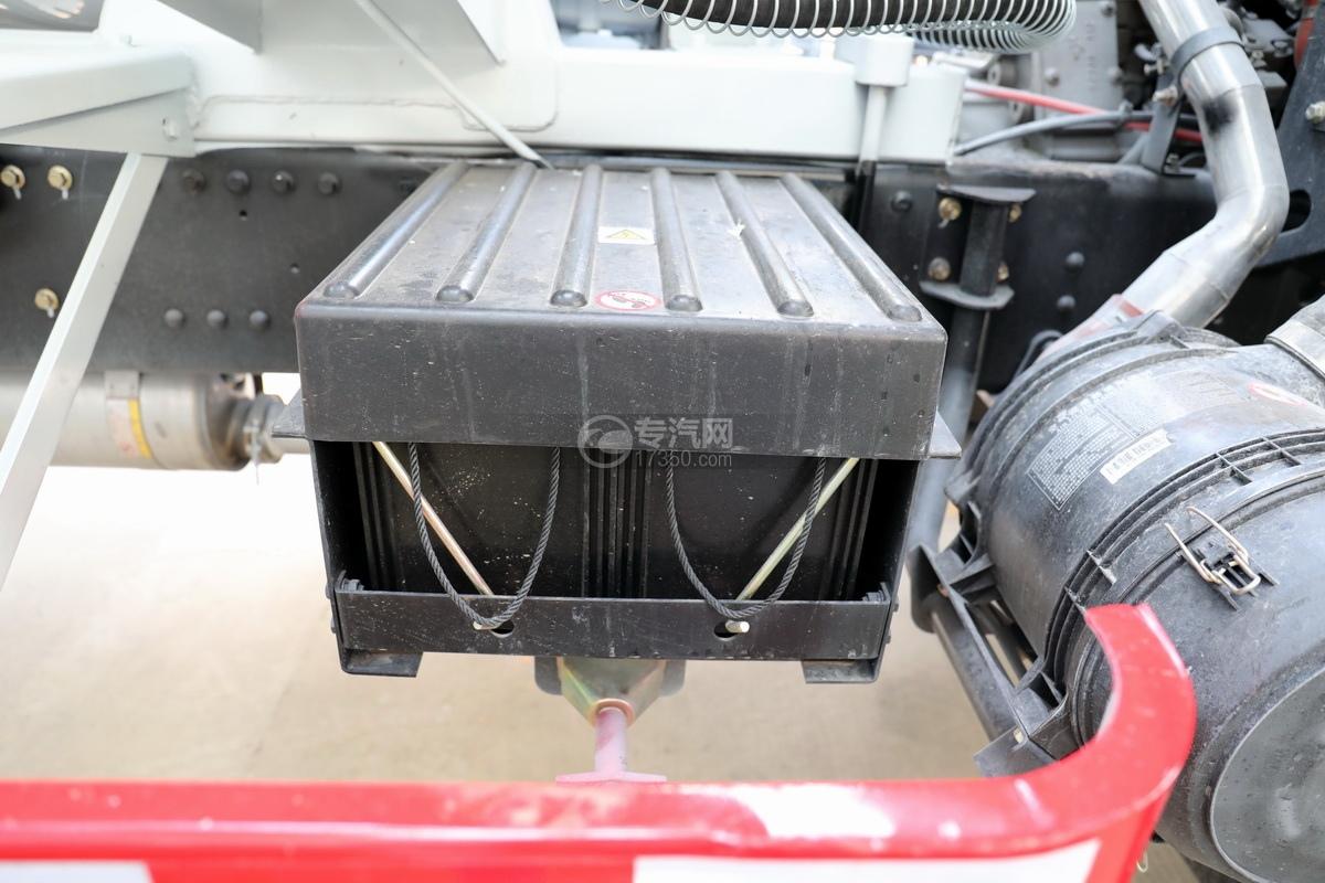 大運運途單橋國六3.57方攪拌車蓄電池