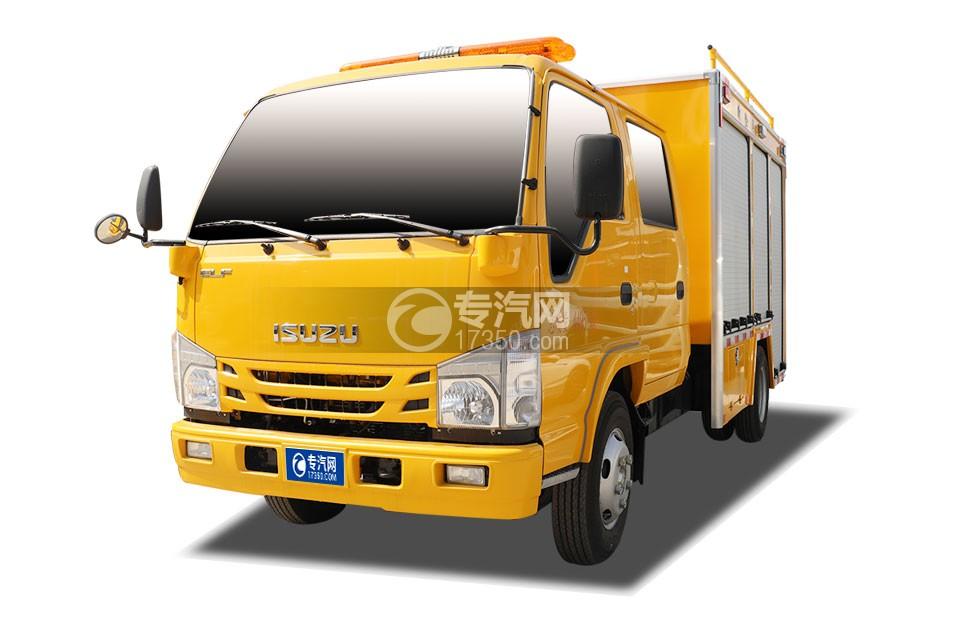 慶鈴五十鈴ELF雙排救險車