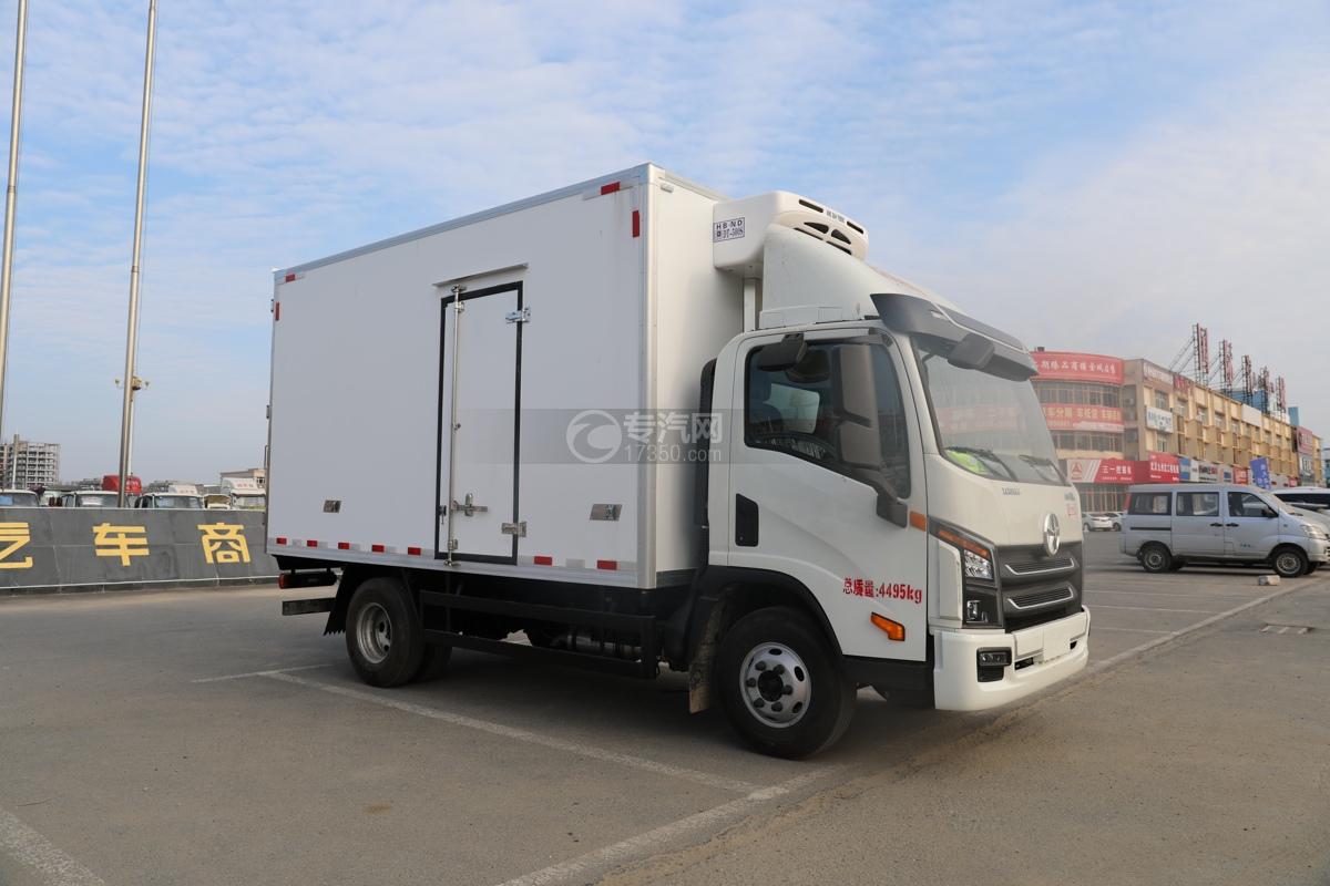 大运祥龙国五4.05米冷藏车图片