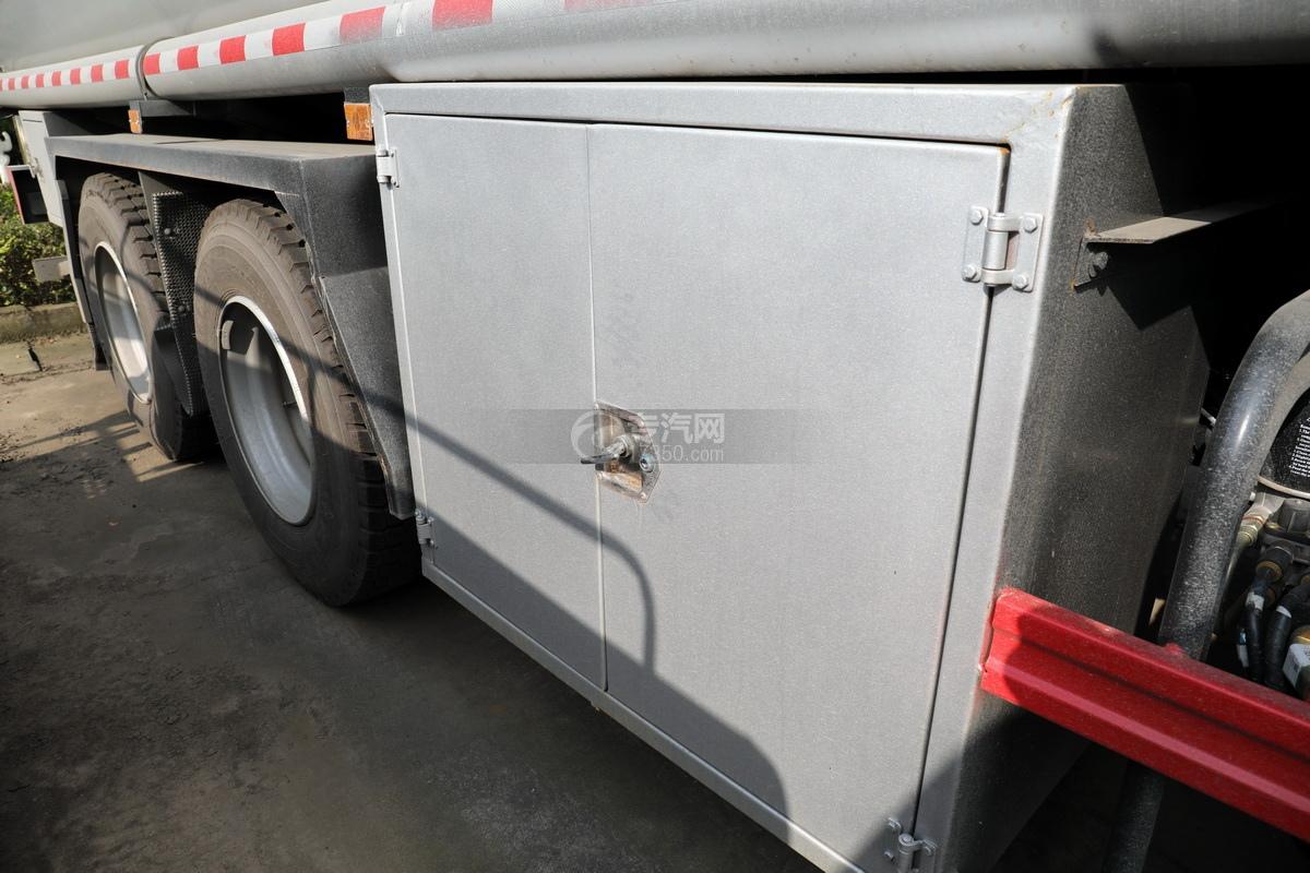 東風錦程V6P后雙橋國六18.2方運油車卸料箱