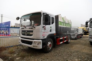 东风D9国六车厢可卸式垃圾车图片
