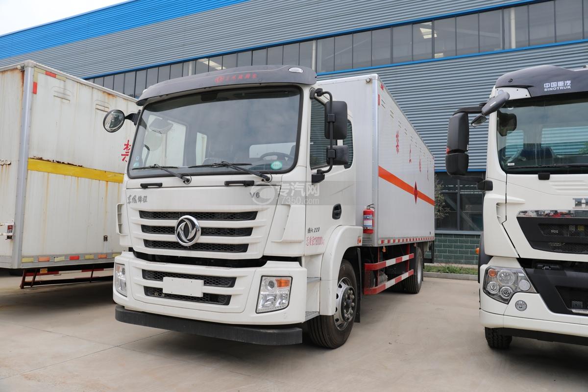 东风锦程V6易燃气体厢式运输车
