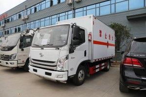 躍進C500國六易燃液體廂式運輸車圖片