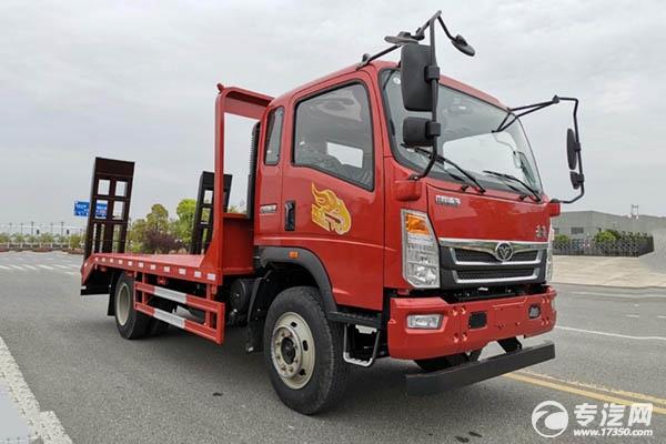 限时优惠重汽豪曼4200轴距平板运输车直降2000元