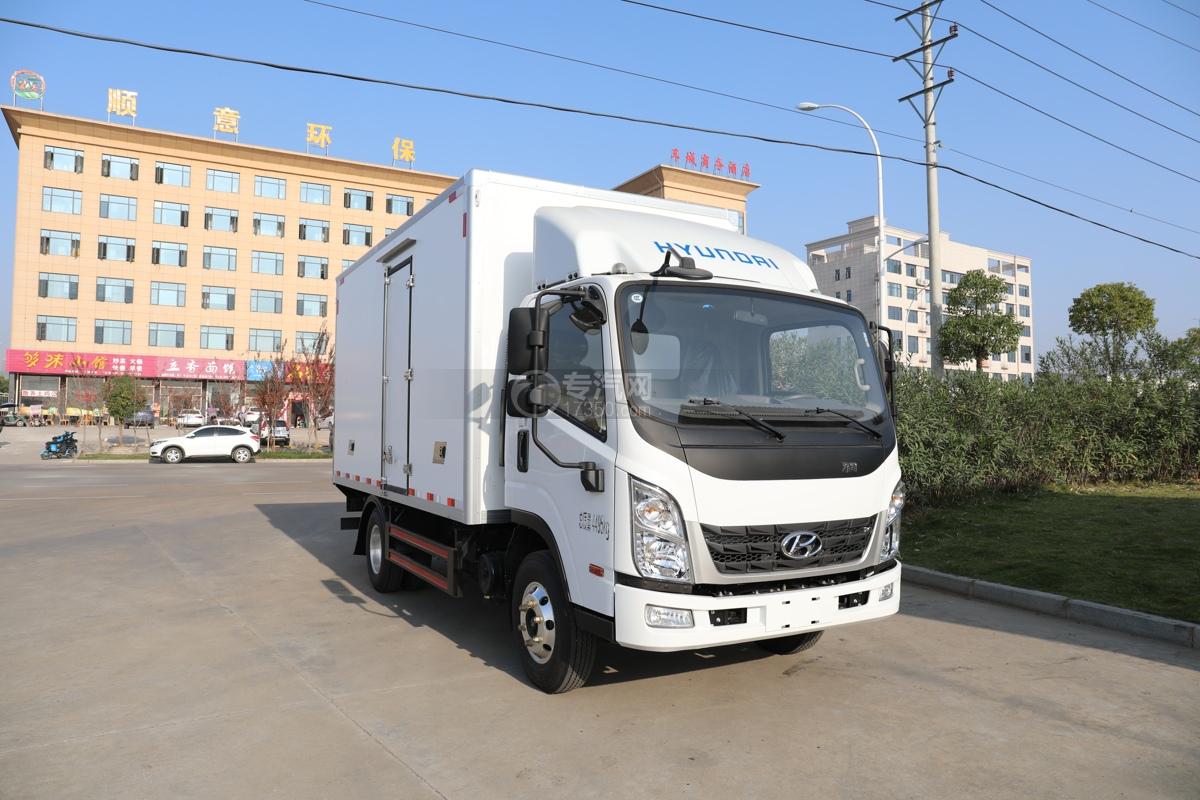 四川现代泓图300国五4.08米冷藏车图片