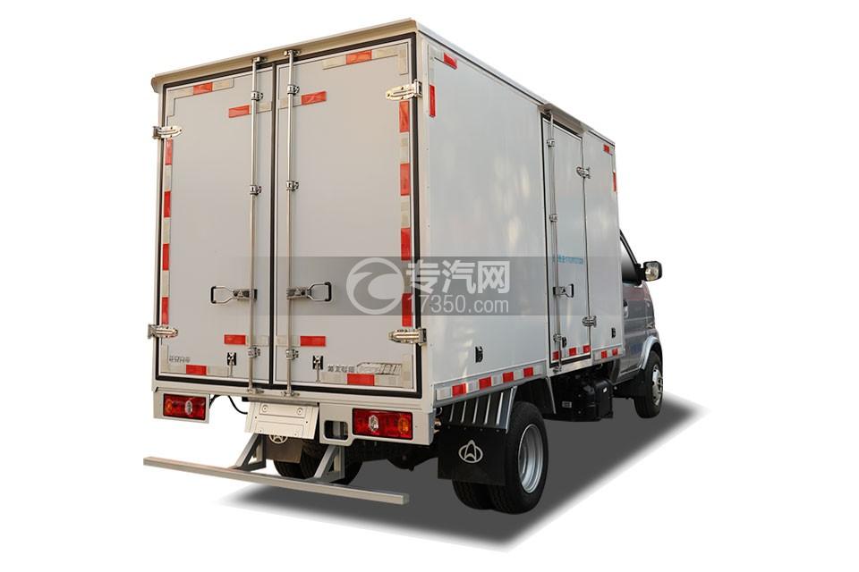 长安神骐T20国六2.93米冷藏车右后图
