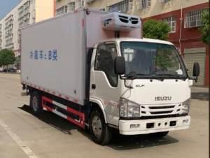 庆铃五十铃ELF国六4.1米冷藏车