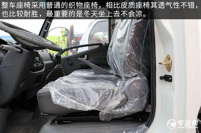 凯马K3国六吸粪车评测座椅