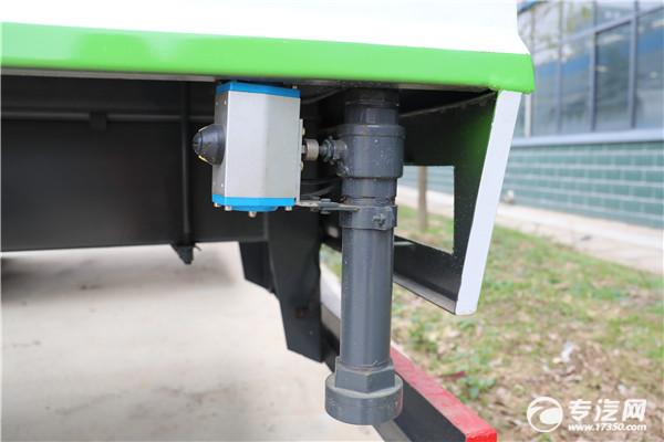 浅谈洒水车上气动球阀与气动推杆有什么区别?