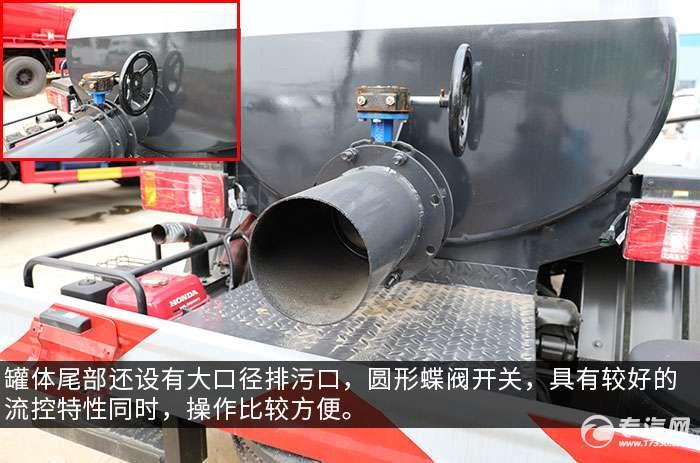 凯马K3国六吸粪车评测排污口