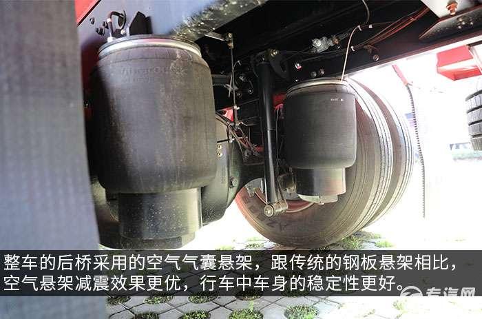 东风天锦单桥国五12.1方加油车评测气囊悬架