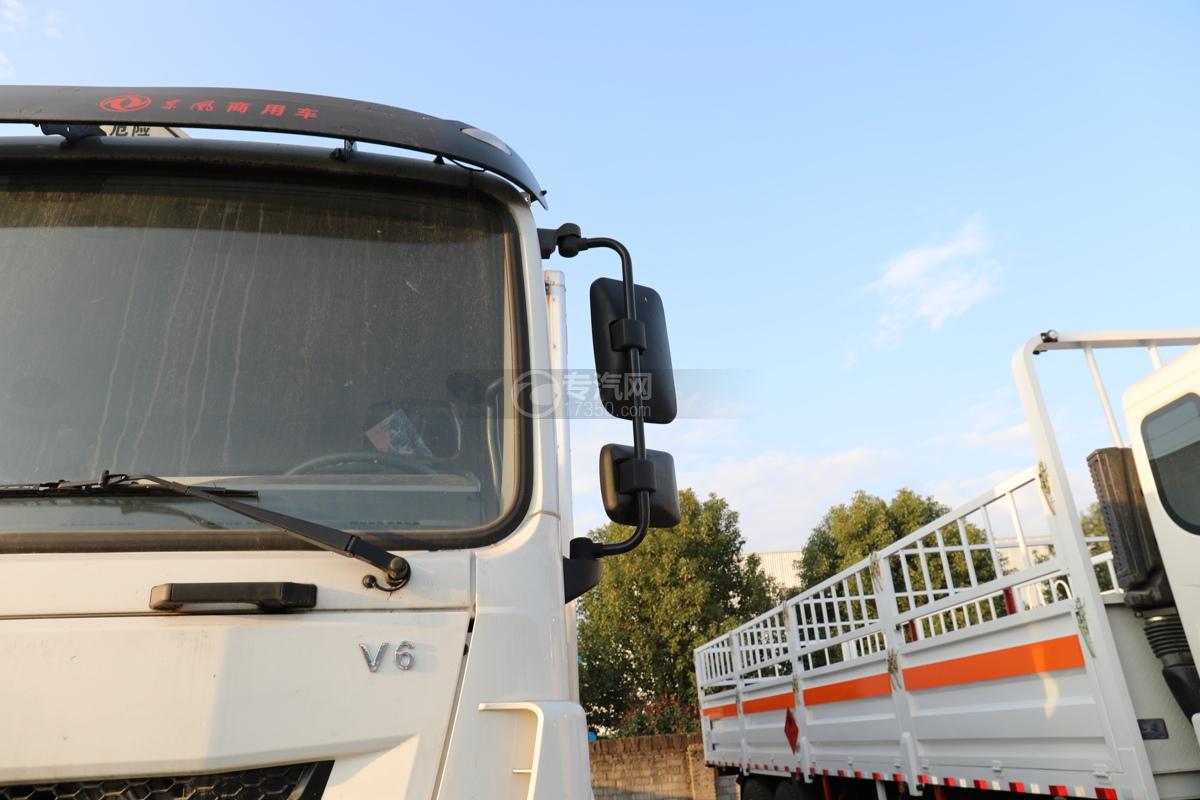 东风锦程V6前四后八国六9.5米杂项危险物品厢式运输车左后视镜