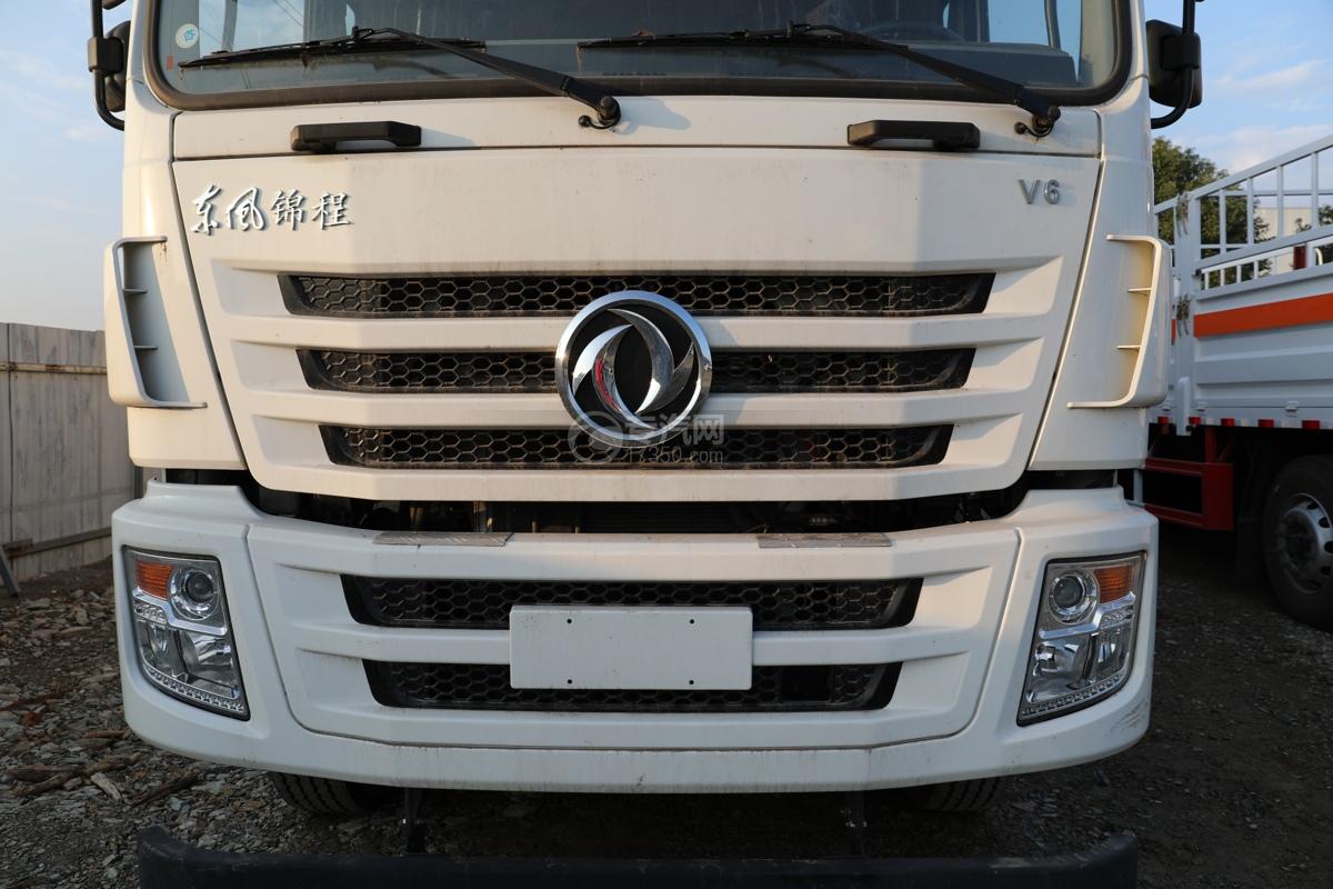 东风锦程V6前四后八国六9.5米杂项危险物品厢式运输车进气格栅
