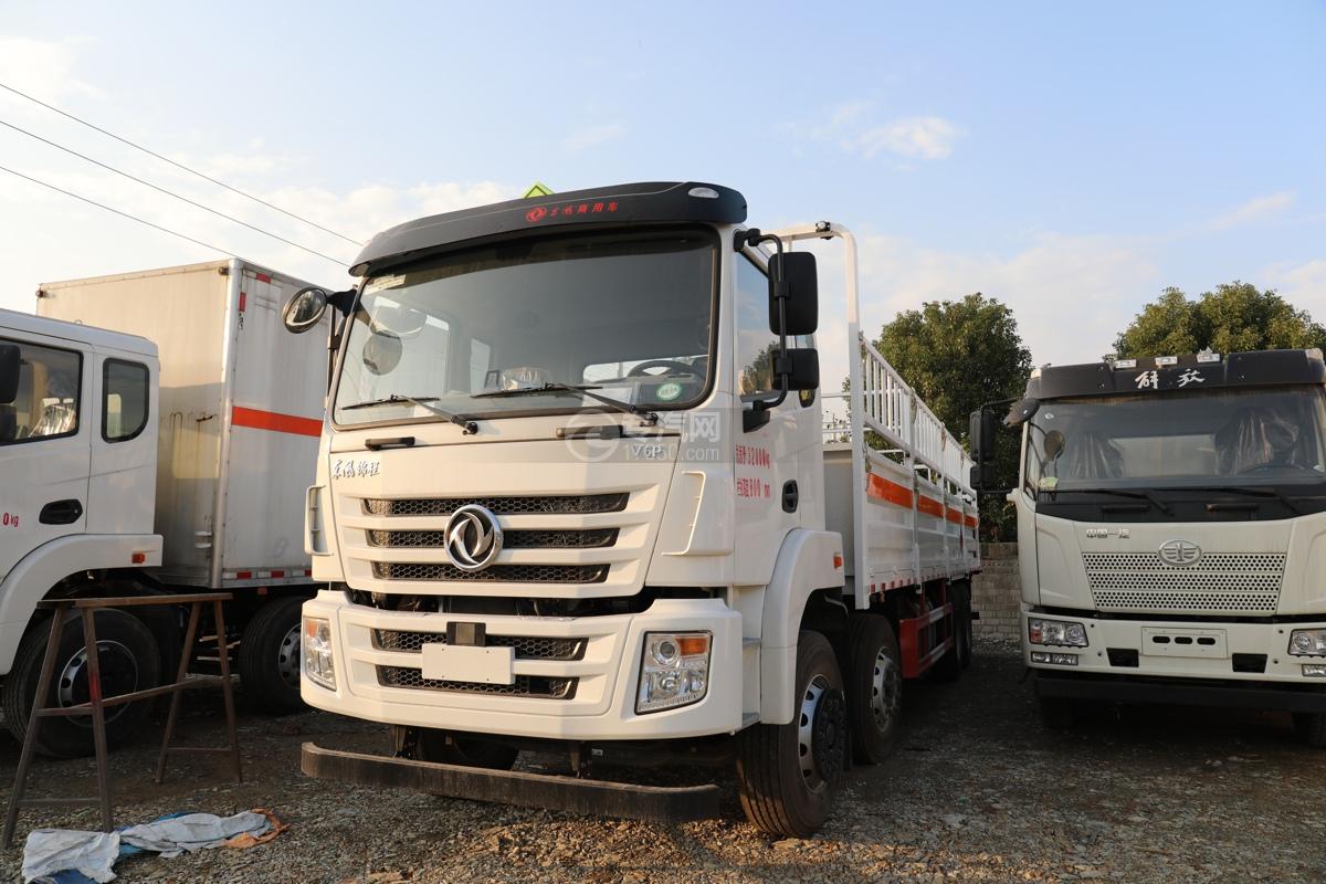 东风锦程V6P前四后八国六气瓶运输车左前图
