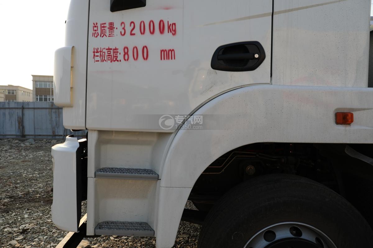 东风锦程V6P前四后八国六气瓶运输车门标识
