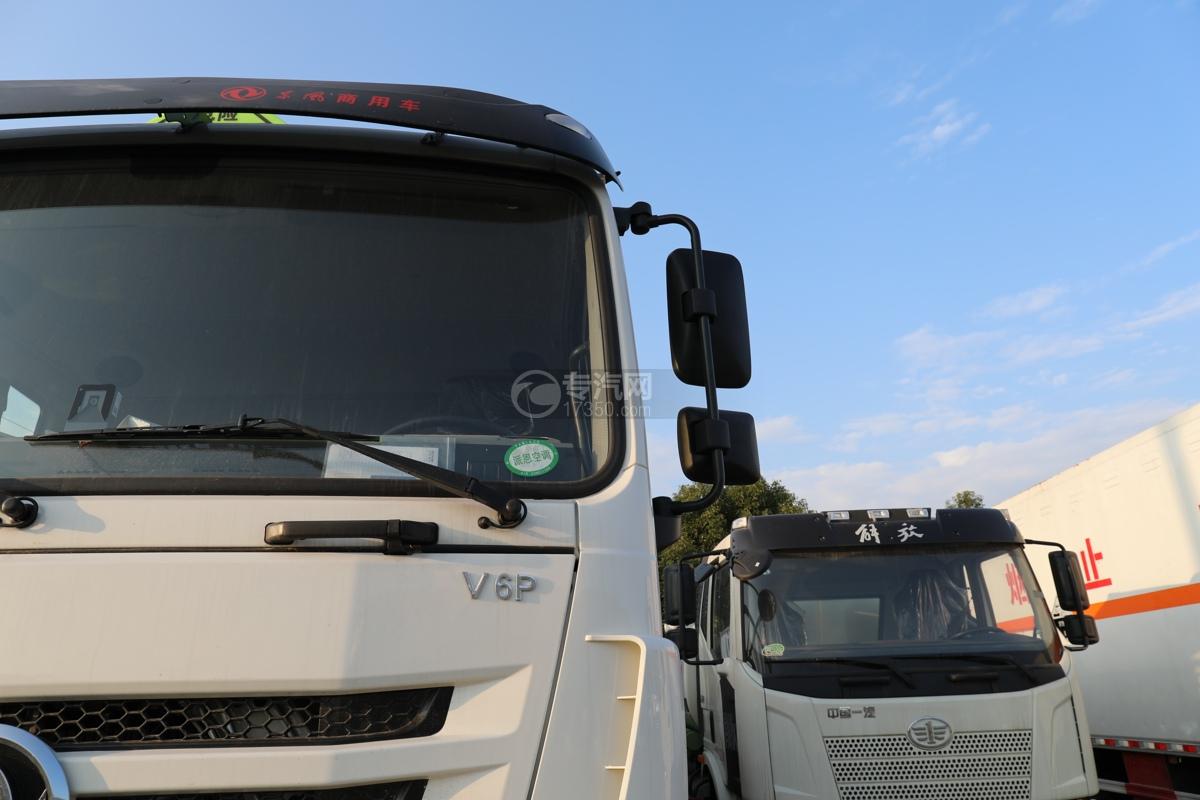 东风锦程V6P前四后八国六气瓶运输车左后视镜