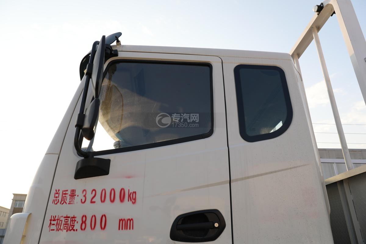 东风锦程V6P前四后八国六气瓶运输车门窗