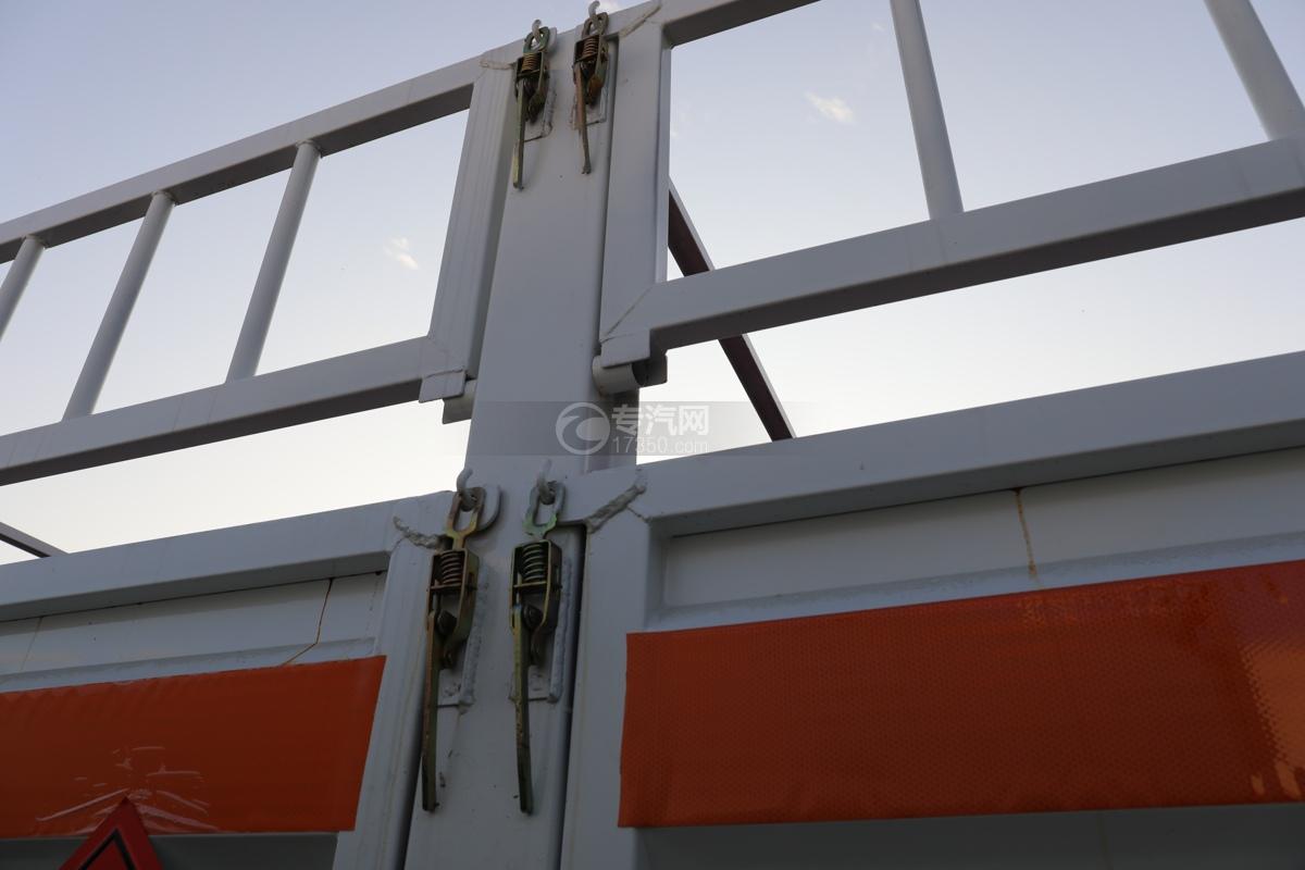 东风锦程V6P前四后八国六气瓶运输车栏板