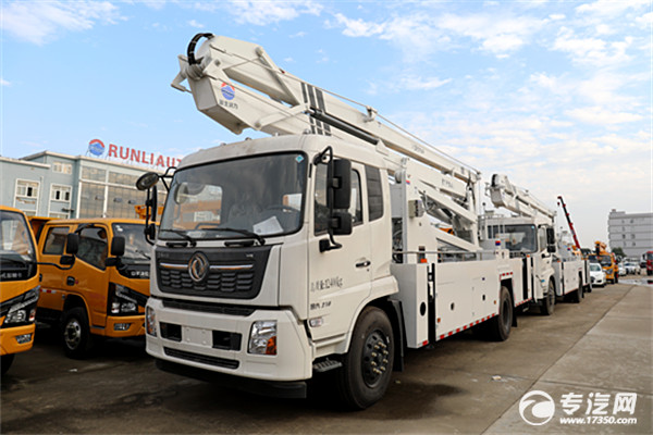 东风天锦VR国六24米折叠臂式高空作业车
