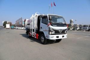 东风福瑞卡F6国六蓝牌自装卸式垃圾车图片