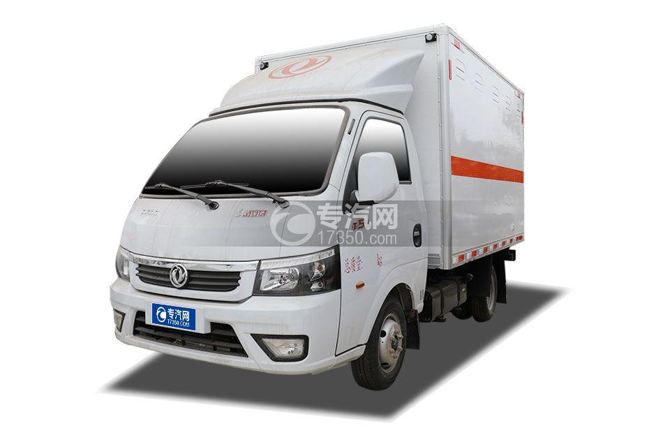 東風途逸國六3米易燃氣體廂式運輸車