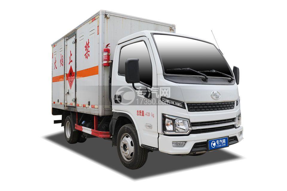 躍進福運S80國六3.1米易燃氣體廂式運輸車