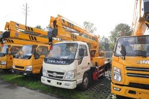 福田时代小卡之星2国六13.5米折叠臂式高空作业车图片