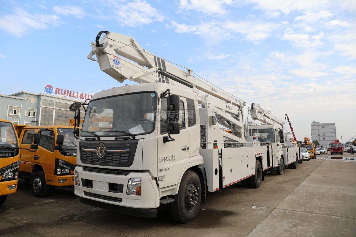 东风天锦VR国六24米折叠臂式高空作业车图片